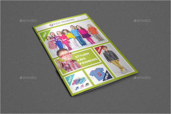 Kids Fashion Brochure