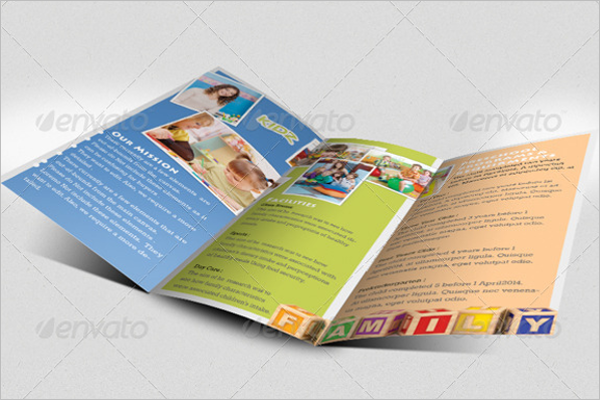 Kindergarten Brochure Design
