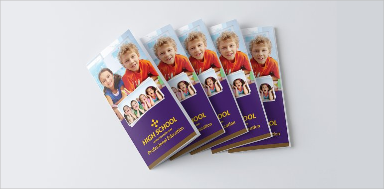 Kindergarten Brochure Templates