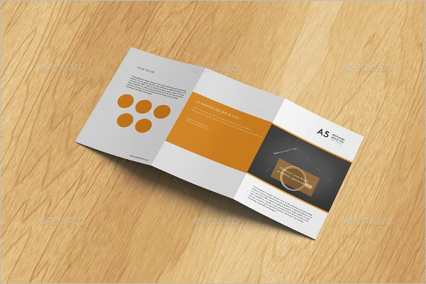 Latest A5 Brochure Mockup