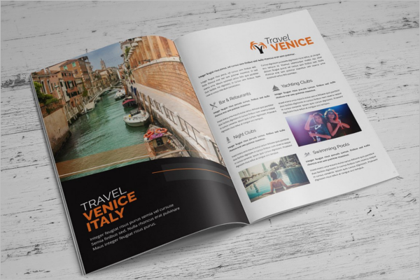 Latest Holiday Brochure Template