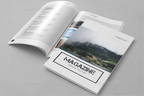 Latest Magazine Brochure Template