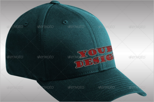 Leather Cap Mockup Design