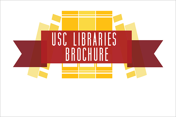 Library Brochure Design