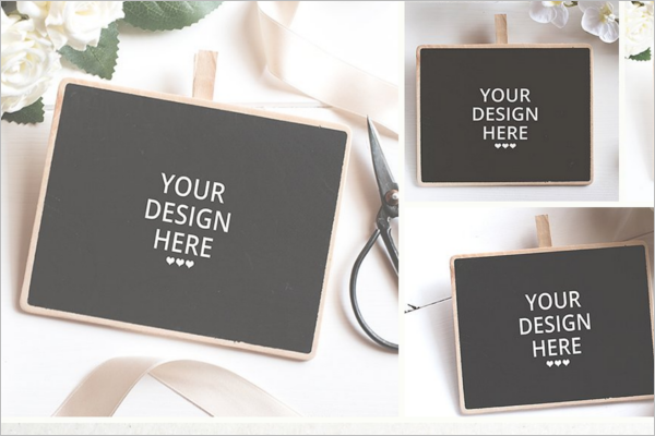 Little Chalkboard Mockup Set