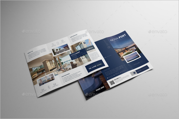 Luxury Real Estate Brochure Template