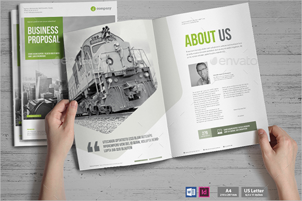 MS Word Brochure Template