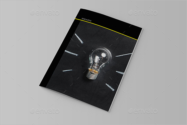 Magazine Booklet Brochure Template