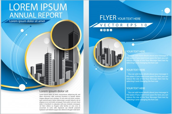 Magazine Free Brochure Template