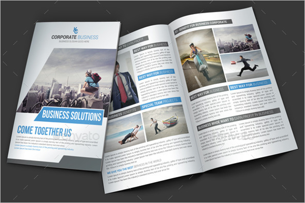 Marketing PSD Brochure