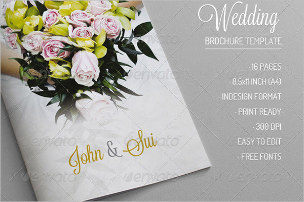 Marriage Brochure Design
