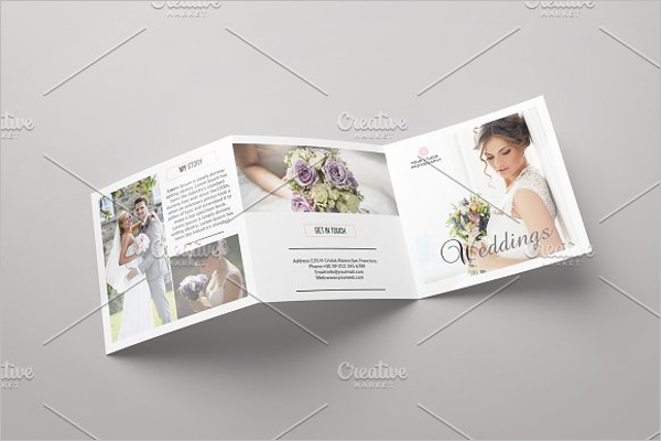 Marriage Photography Brochure