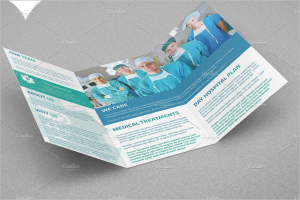 Medical A4 Brochure Template