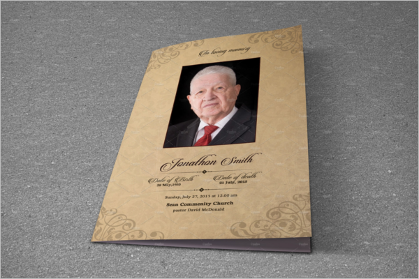 Memorial Program Template Word
