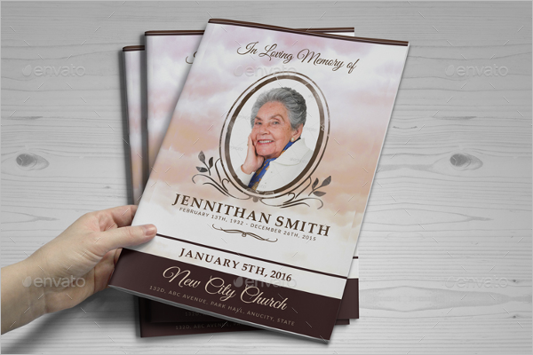 Memorial Services Brochure Design