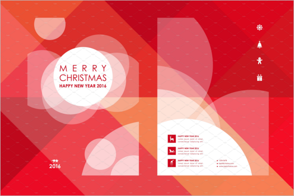 Merry Christmas Brochure Design