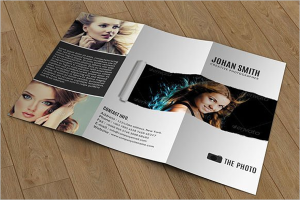 Minimal Photography Brochure