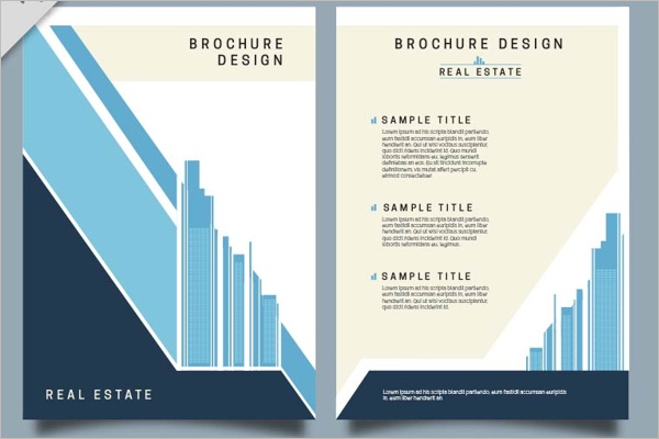 Minimal Real Estate Brochure Template