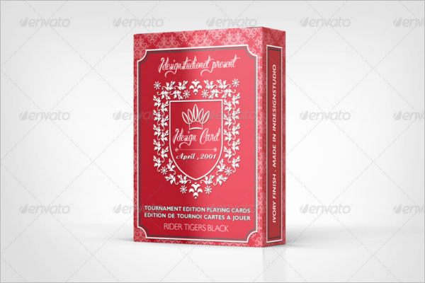 Miscellaneous Playing Card Mockup