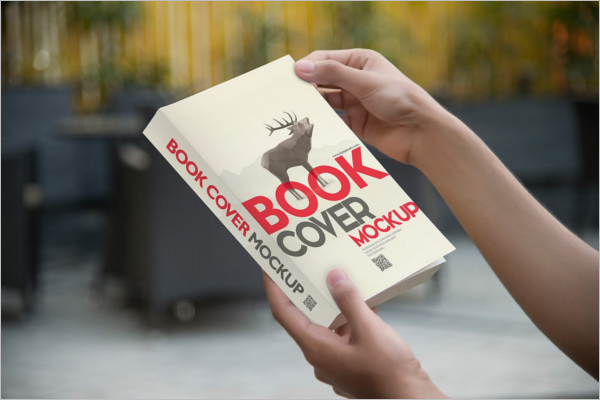 Mockup Book Cover PSD