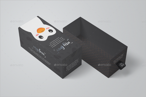 Mockup Sliding Packaging Mockup Design