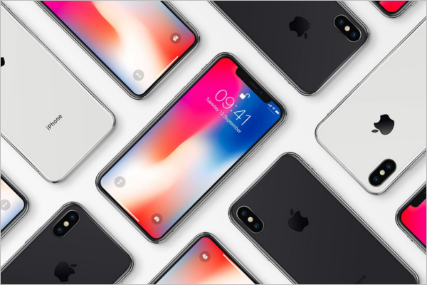 Mockup iPhone X Design