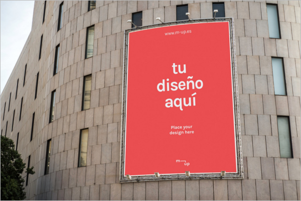 Modern Billboard Mock-up