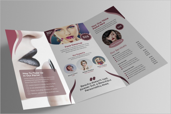 Modern Cosmetic Brochure Template