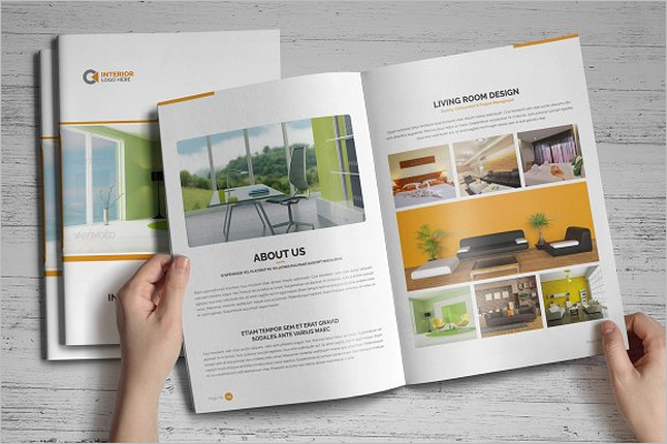 Modern Interior Design Brochure