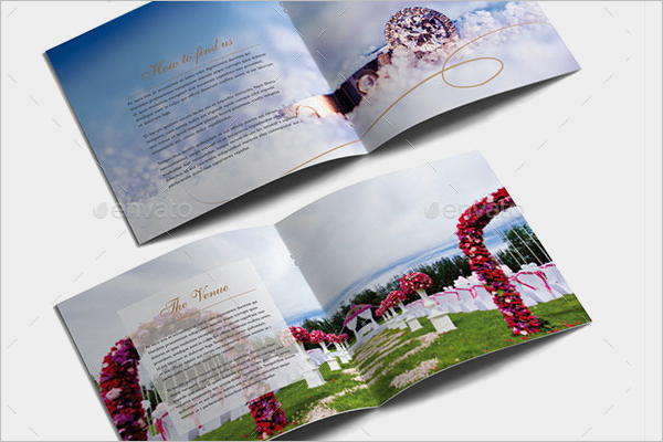 Modern Weeding Brochure Template