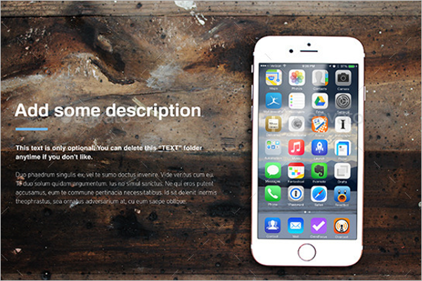 Modern iPhone Mockup Template