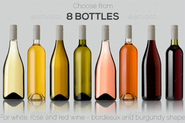 Multi Usage Bottles Design Mockup