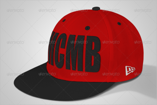 Multicolor Cap Mockup Design