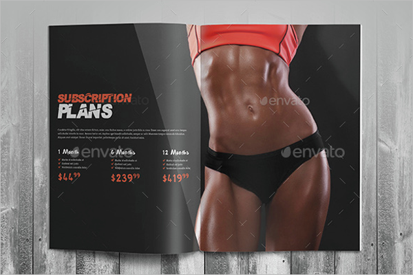 Muscle GYM Brochure Template