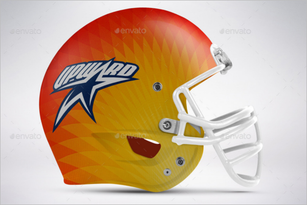 NFL Football Helmet Mockup