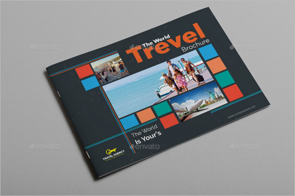 Nature Travel Brochure Template