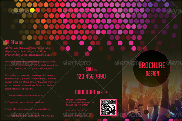 New Year Celebrations Brochure Template