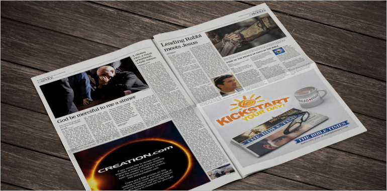 Newspaper Mock up Template