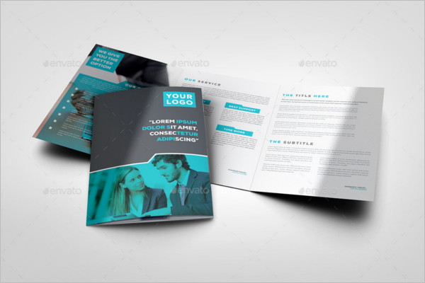 PSD A4 Brochure Template