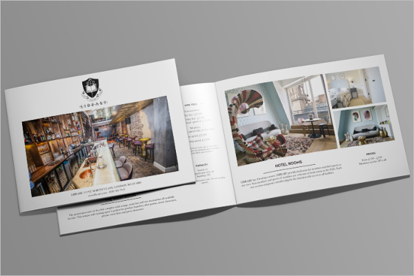 PSD  Library Brochure Free Download