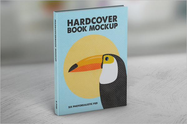 PSD Mockup Book Cover Design