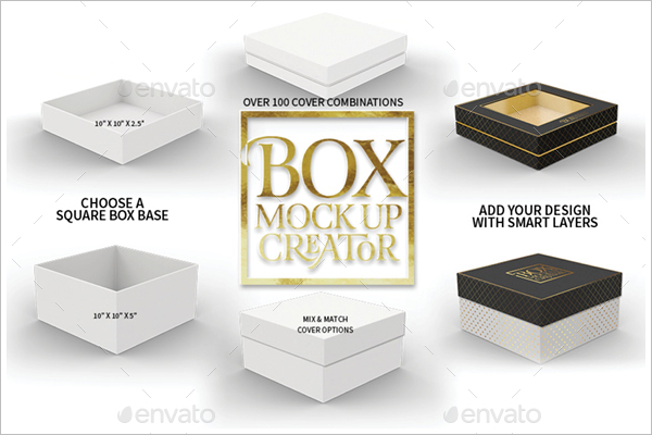 Package Box Mockup Template