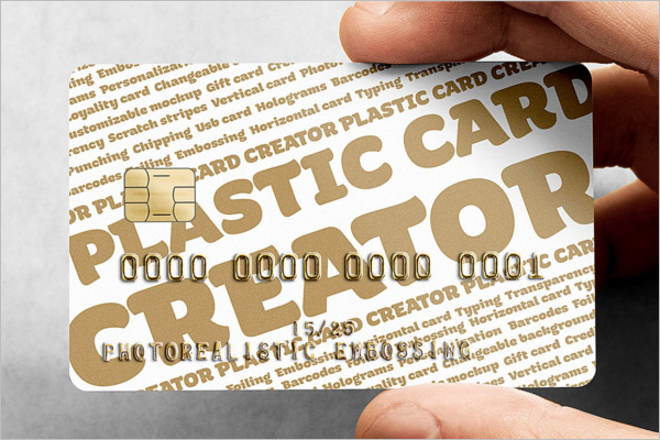 Payment Card Mockup