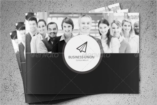 Personal Corporate Brochure Template