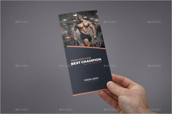 Personal Gym Brochure Template