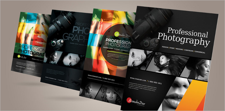 Photography Brochure Designs