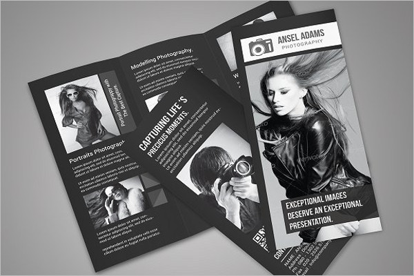 Photography Fashion Brochure