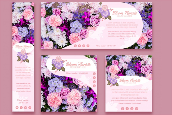 Photorealistic Florist Brochure Design
