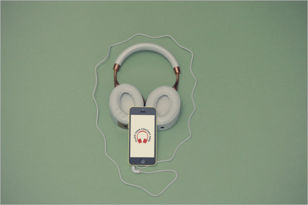 Photorealistic-Headphones-Mockup-Design