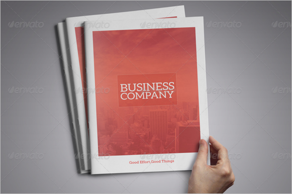 Photoshop A4 Brochure Design